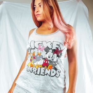 Mickey and friends tank